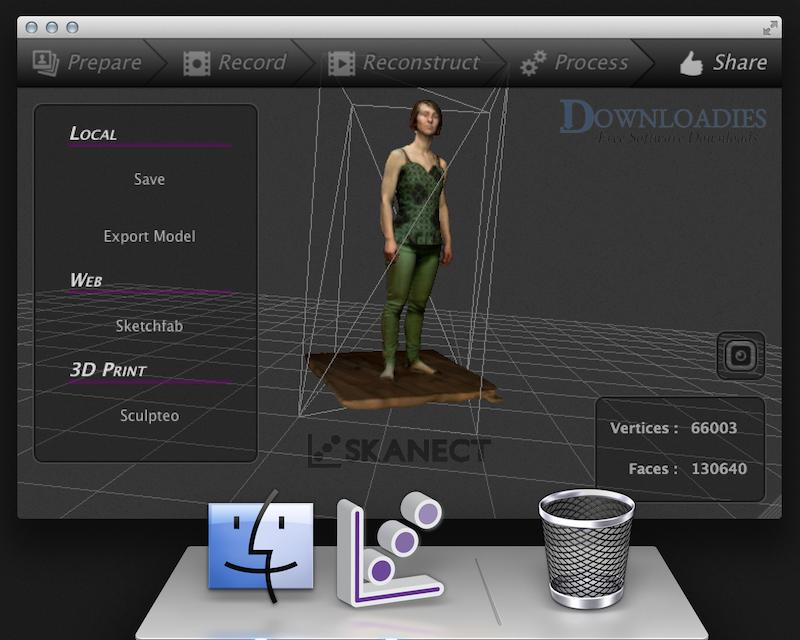 Skanect Pro 1.8.4 for Mac Free Download