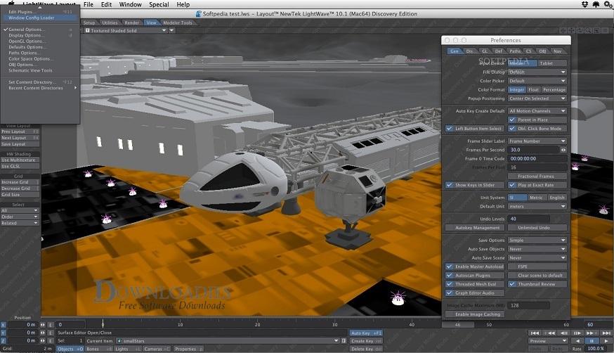 NewTek LightWave 3D 2019 for Mac Free Download