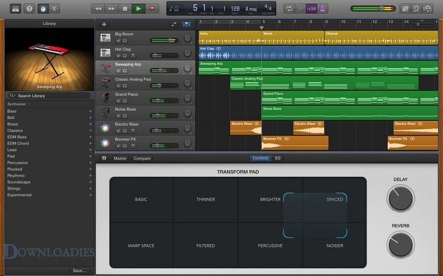 Apple GarageBand 10.3 for Mac Free Download
