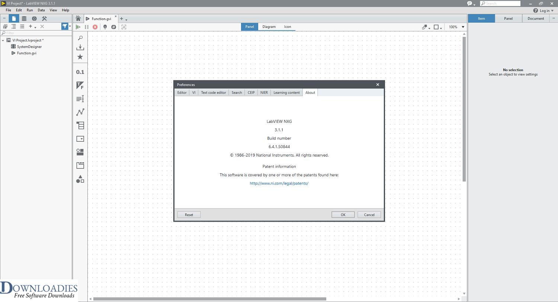 LabVIEW NXG 3.1 free download