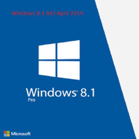 Windows 8.1 AIO April 2019 free download