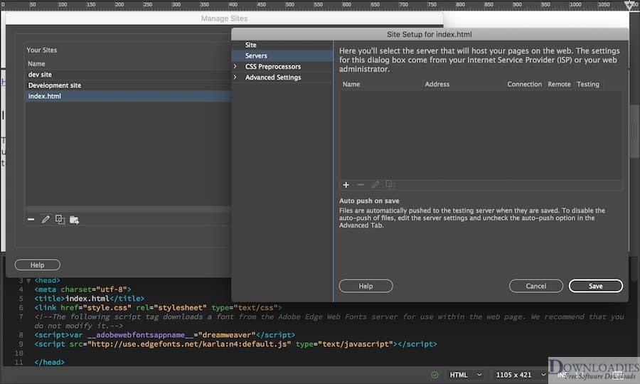 Adobe Dreamweaver CC 2019 v19.2 for Mac free download for Web and App Development