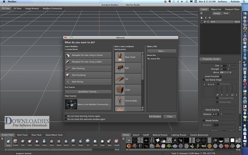 Autodesk-Mudbox-2019-for-Mac-Direct-Link