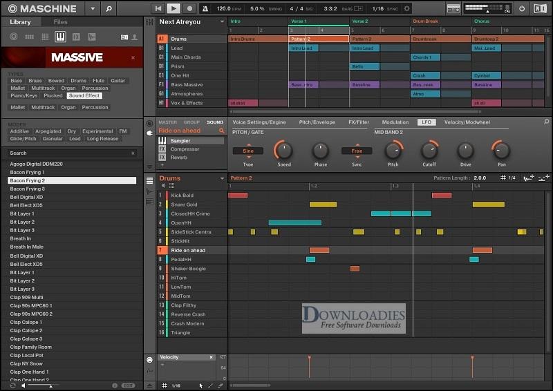 Native-Instrument-Maschine-2-v2.8-for-Mac