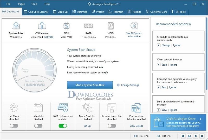 Portable-Auslogics-BoostSpeed-11.0