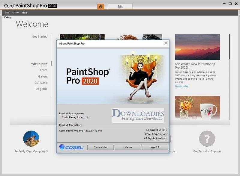 Portable-Corel-PaintShop-Pro-2020-v22-For-Windows