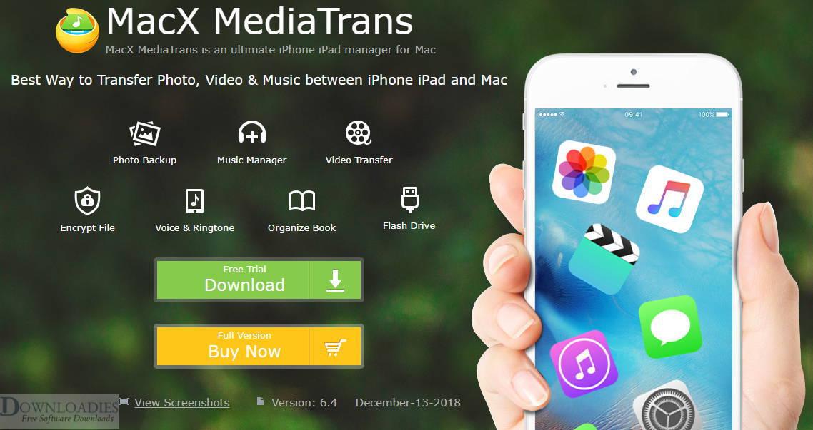 Download Free MacX MediaTrans 6.7 for Mac downloadies