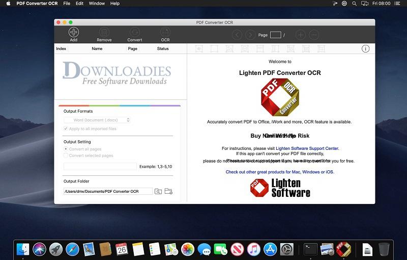PDF Converter OCR 6.2.1 for Mac Free Download - Downloadies