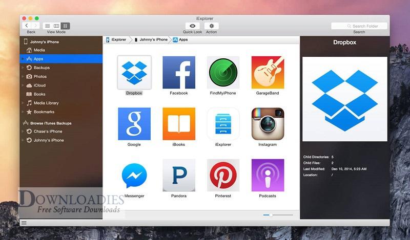 iExplorer-4.4.0-for-Mac-Downloadies