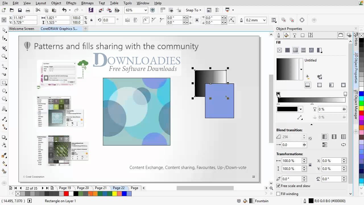 Corel DRAW graphics suite X7 Free Download
