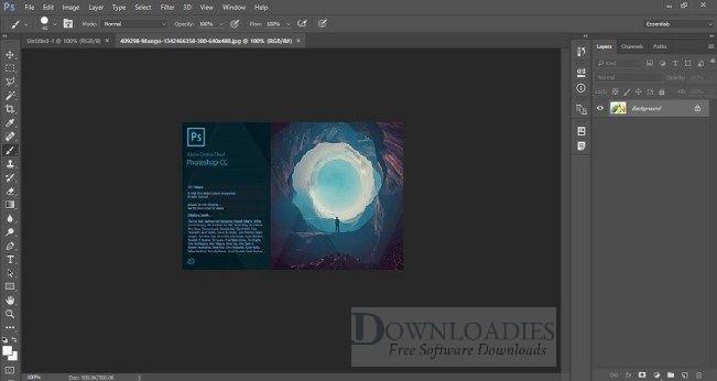 Adobe Photoshop CC 2017 v18 download Free
