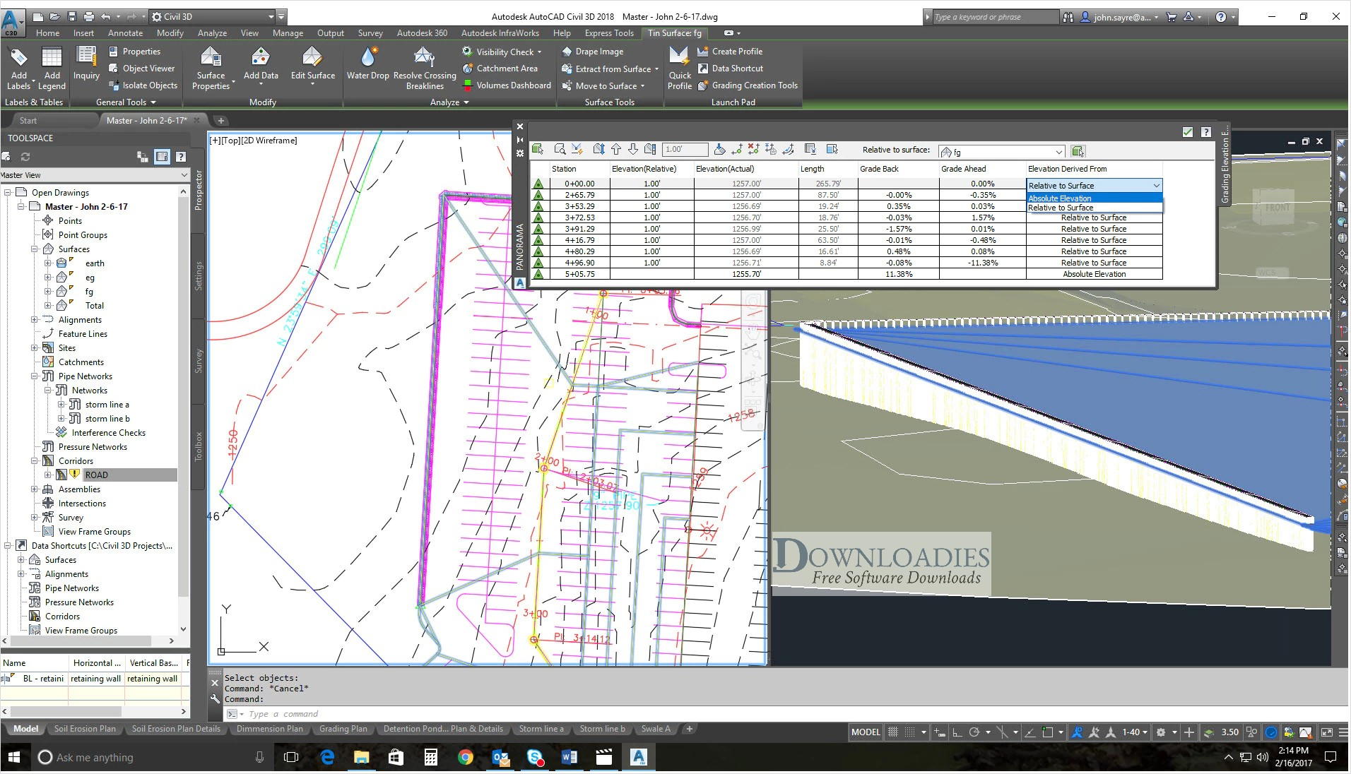 AutoCAD Civil 3D Free Download