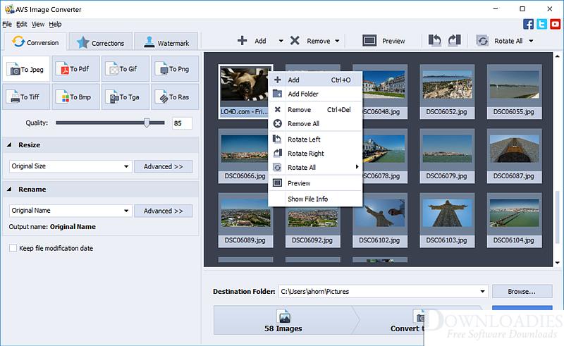 AVS Image Converter Download Free