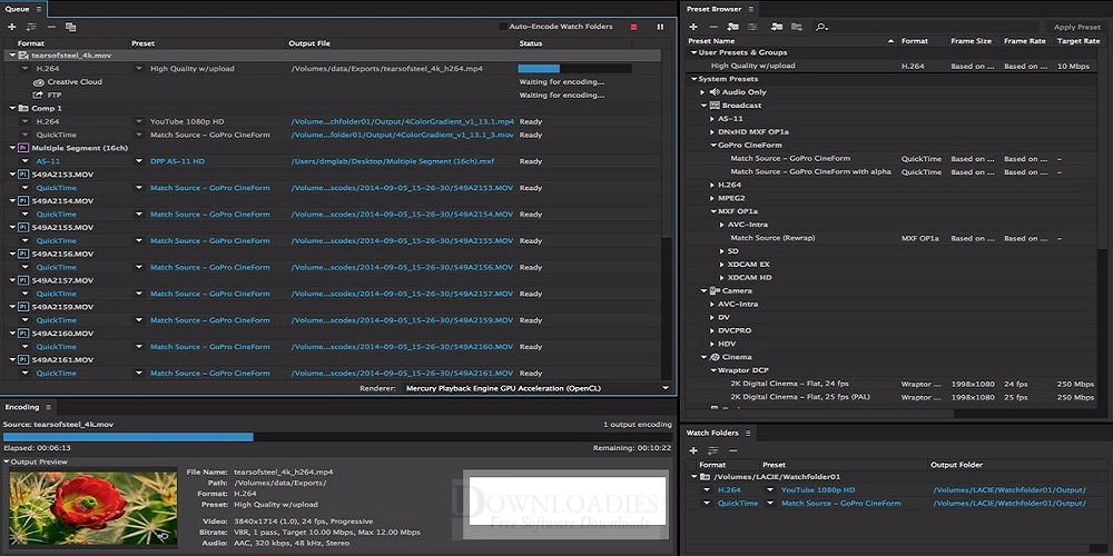 Adobe media encoder cc 2015 Free download