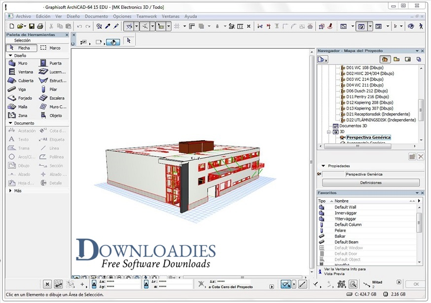 Graphisoft ArchiCAD 22 for Mac Free Download