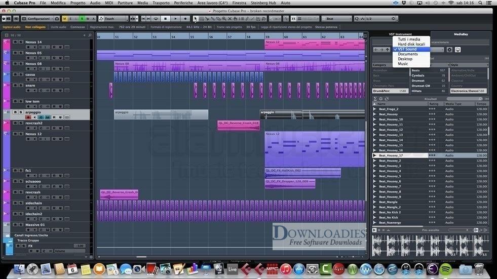 Steinberg Cubase Artist 9.5 for Mac Free Download