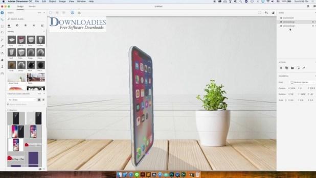 Adobe Dimension CC 2019 for Mac Free Download