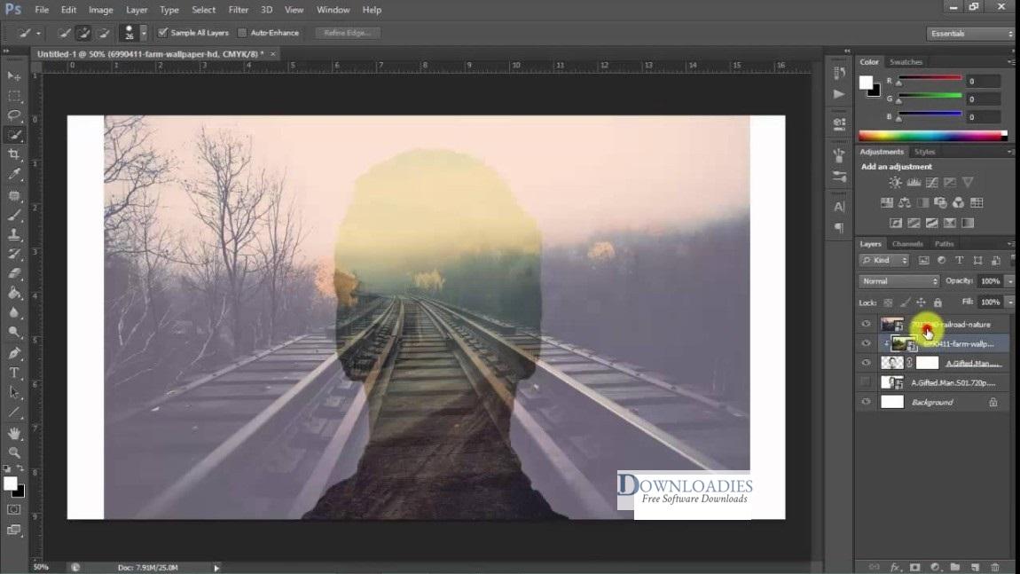 Adobe Photoshop CC 2019 v20.0 download free