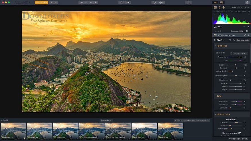 Aurora HDR 2019 for Mac Free Download