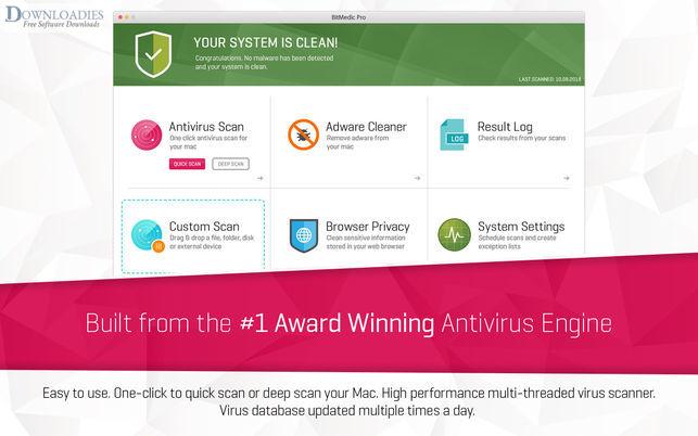 BitMedic Pro Antivirus 3.0 for MAc free download