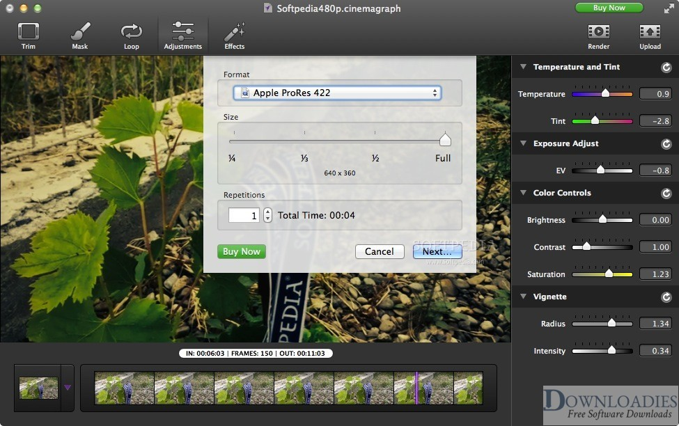 Cinemagraph Pro 2.7 For MAc Free Downaload2