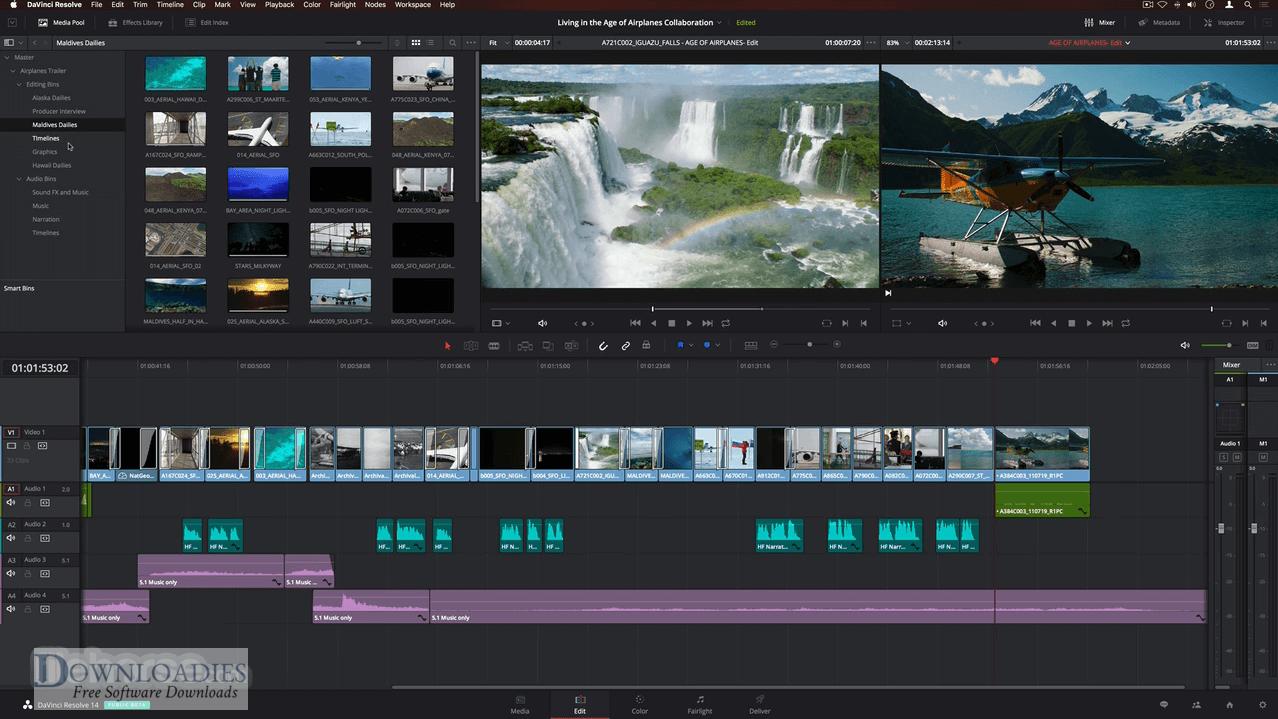 DaVinci Resolve Studio 15.1 for mac free download