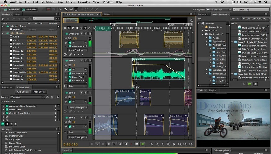 Download Free Adobe Audition CC 2019 v12.0 for Mac