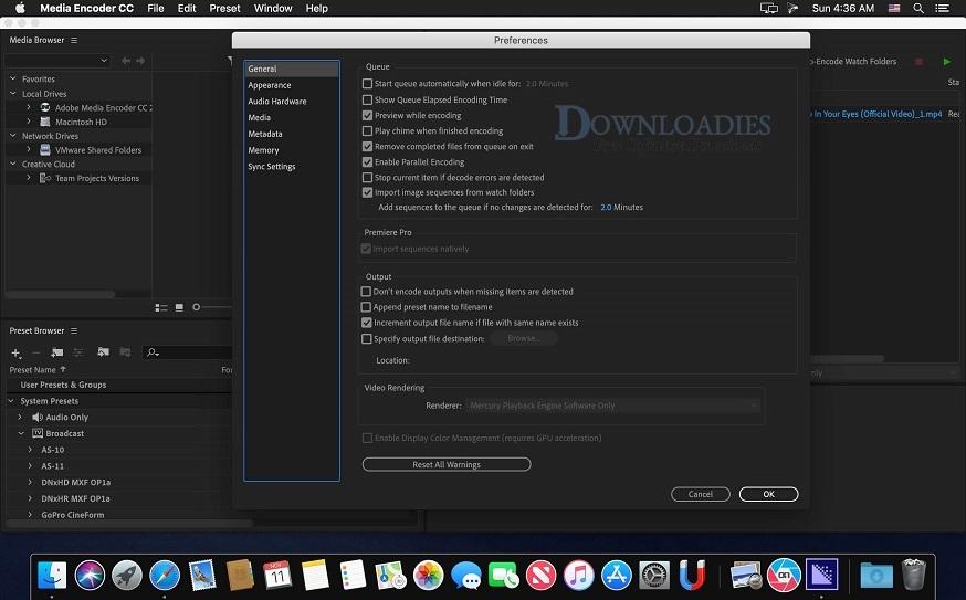 Free Download Adobe Media Encoder CC 2019 13.0 for Mac