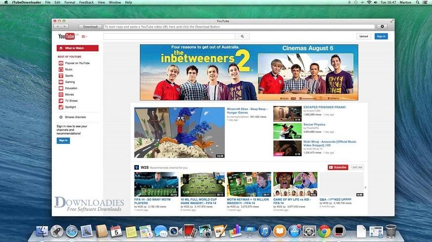iTubeDownloader 6.4 for Mac Free Download