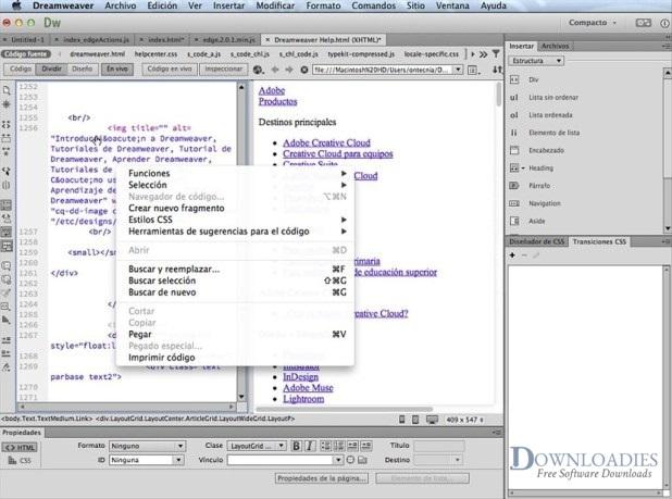 Adobe-Dreamweaver-CC-2019-19.0-for-Mac-Free-Download
