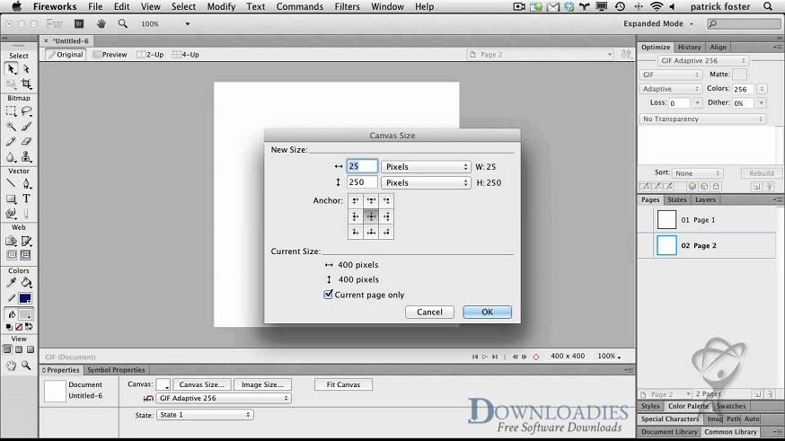 Adobe Fireworks CS6 for Mac Free Download