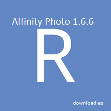 Affinity Photo 1.6.6 for MAc free download features