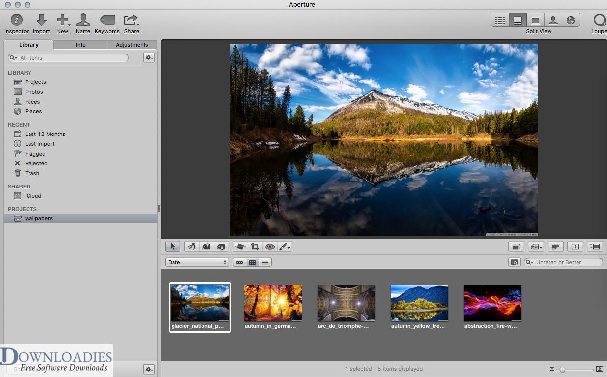 Apple Aperture v3.6 for mac free download