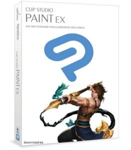 Clip Studio Paint 1.6 for Mac free download featured