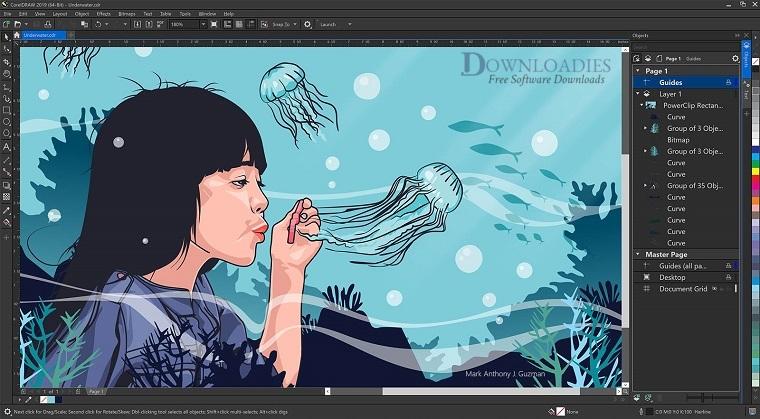 CorelDRAW Graphics Suite 2019 21.0 for Mac