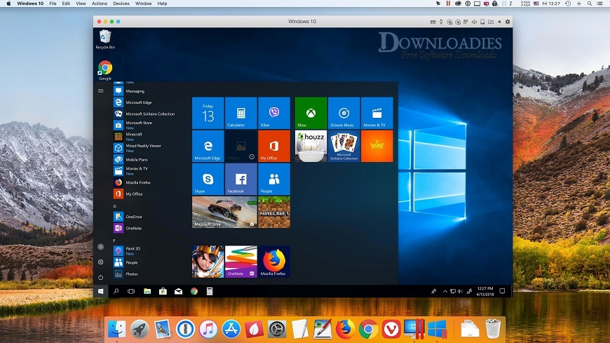 Parallels Desktop Busniess Edition 14.1 for Mac Free Download