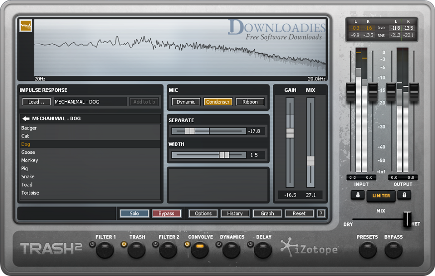 iZotope TRASH 2 v2.05b for Mac Free Download