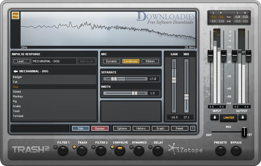 iZotope TRASH 2 v2.05b for Mac Free Download