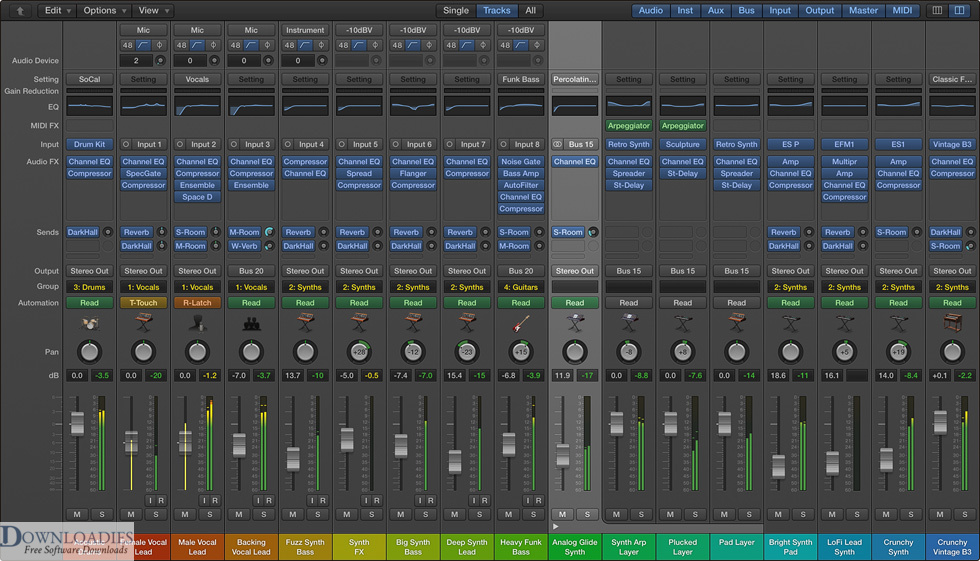 Download Apple MainStage 3.2 for Mac Free Download
