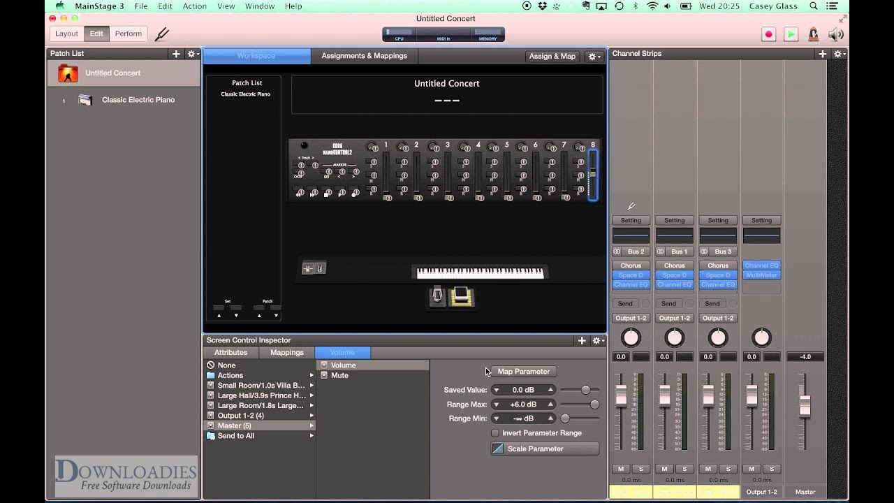 Download Apple MainStage 3.2 for Mac Free Download1