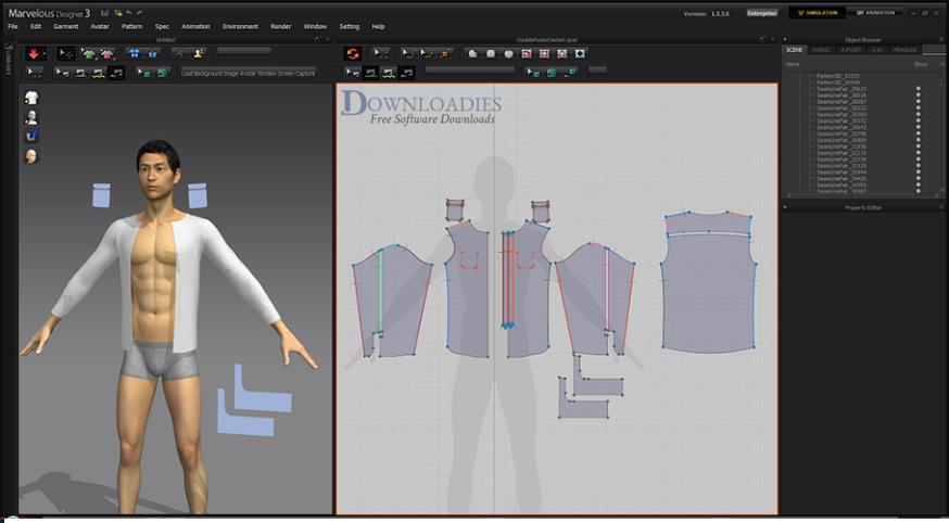 Download Marvelous Designer 3 for Mac