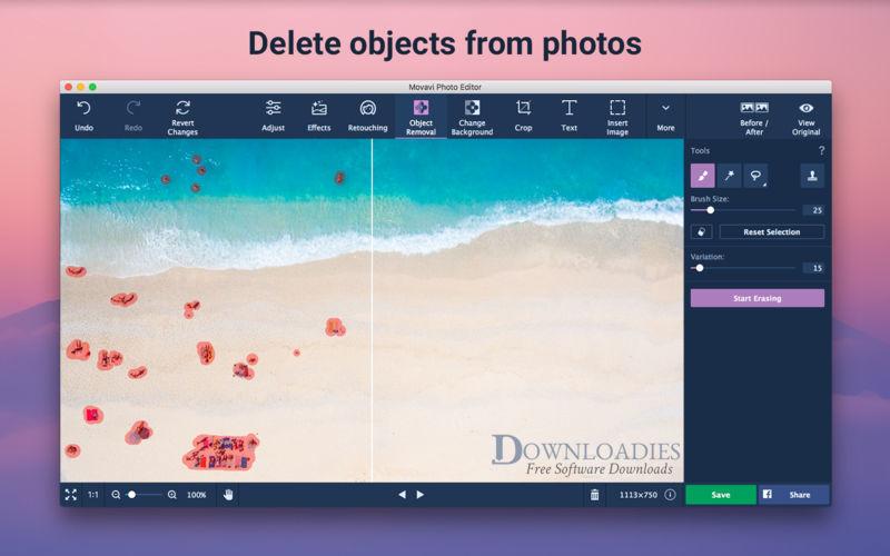 Download Movavi Photo Editor 5.7 for Mac