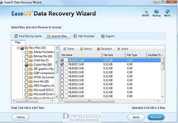 EaseUS Data Recovery Wizard 11.8 for Mac Free download