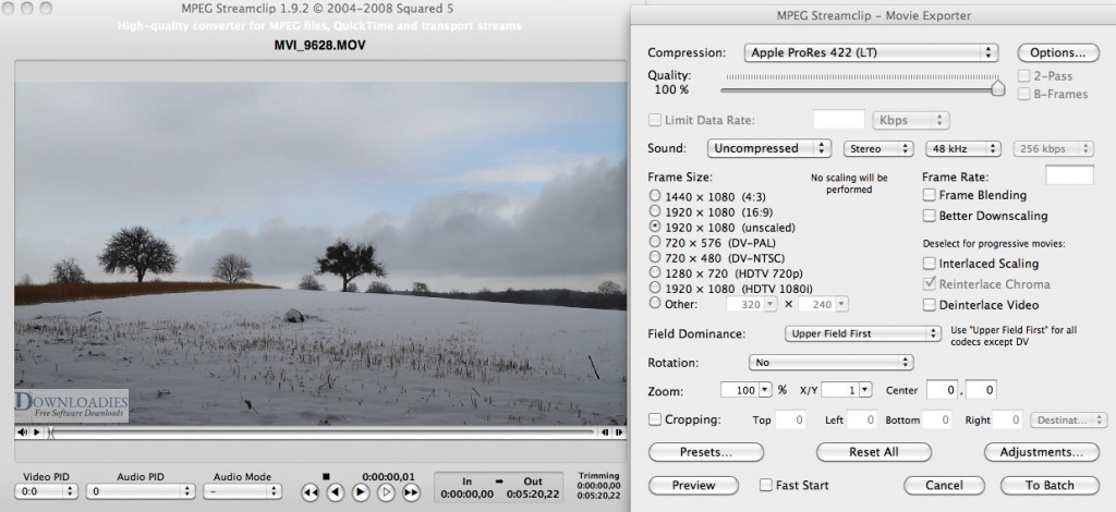 MPEG Streamclip for Mac download free for mac free