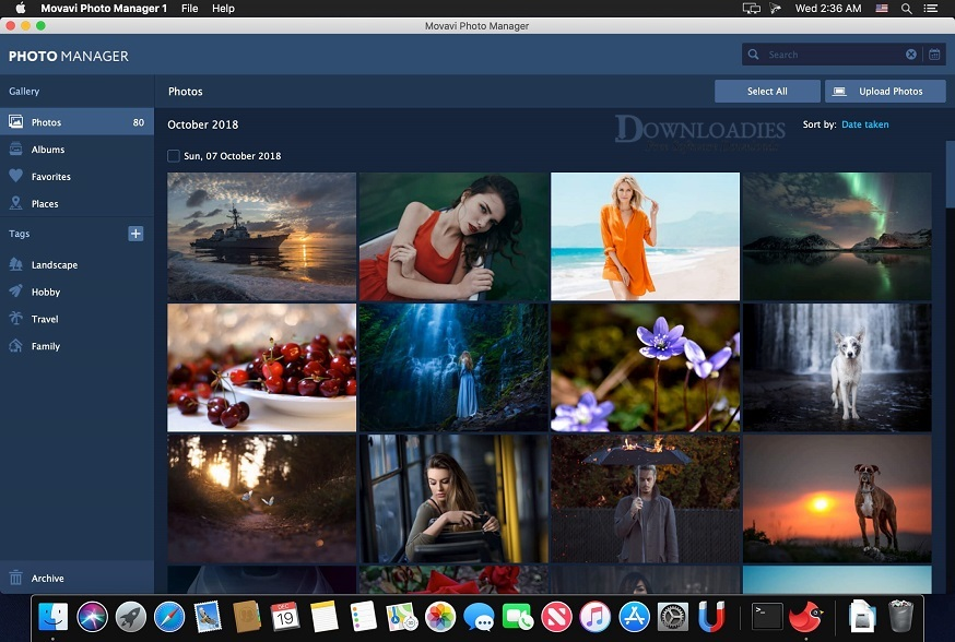 Movavi Photo Manager for Mac Free Download