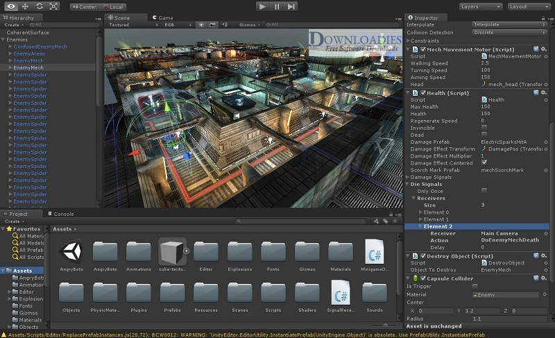 Unity Pro 2018.3 for Mac Free Download