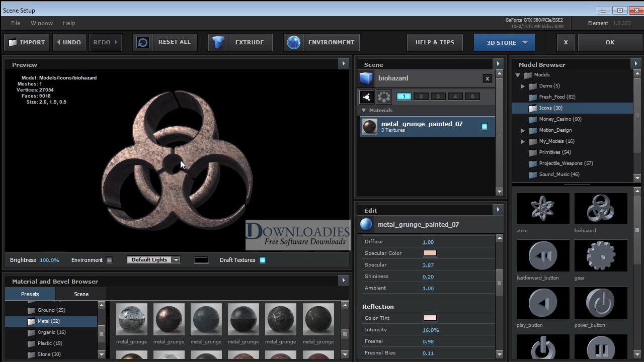 Video Copilot Element 3D for Mac free download