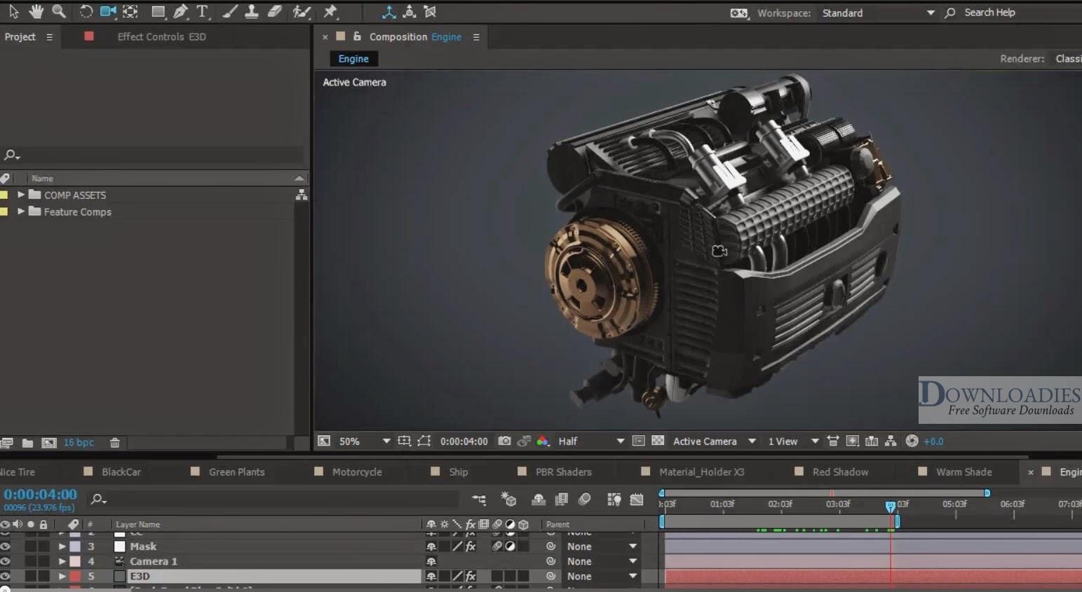 ]Video Copilot Element 3D for Mac free download free