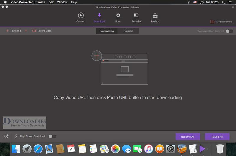 Wondershare Video Converter Ultimate 10.3 for Mac