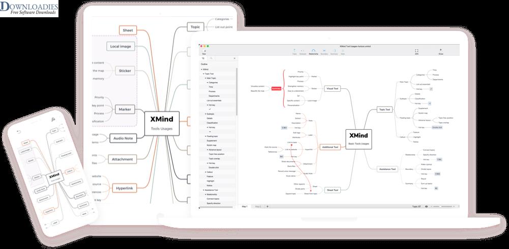 XMind ZEN 9.1 for Mac free download1